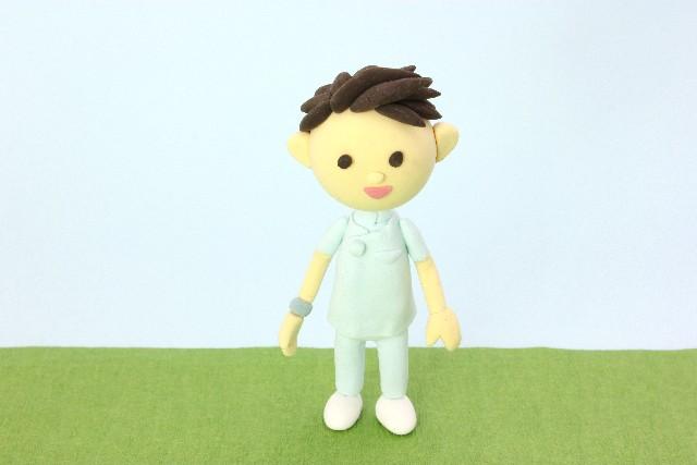 男性看護師 人形